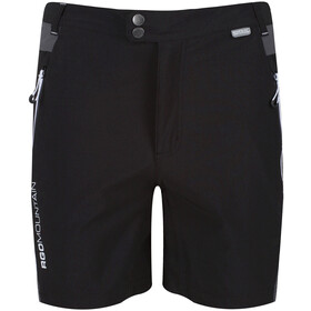 Regatta Mountain Shorts Herrer, black/magnet
